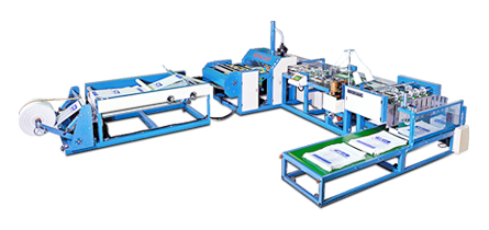 Automatic Woven-bag Cutting and Sewing Machine