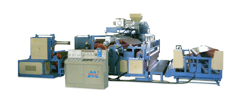 Single & Sandwich Extrusion Laminator