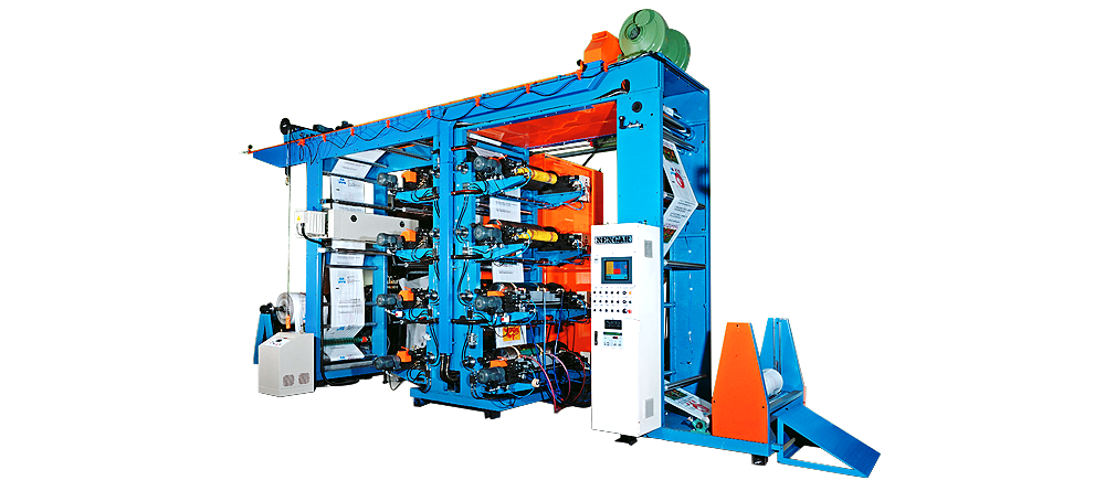 8-color Double-side Printing Machine for Blown-filmBags and PP Woven Bags
